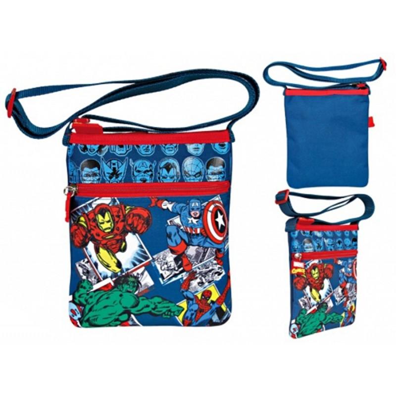 Chlapecká taška na jedno rameno Marvel / 21 x 18 x 1,5 cm