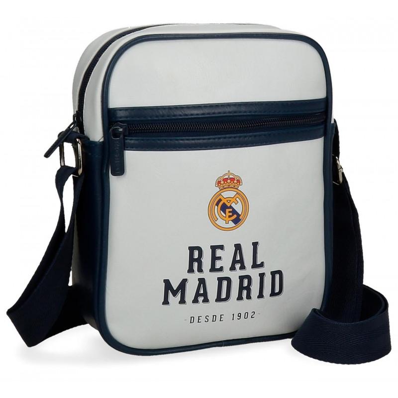 TAŠKA NA JEDNO RAMENO Real Madrid / 17 x 22 x 6 cm / veci do skoly