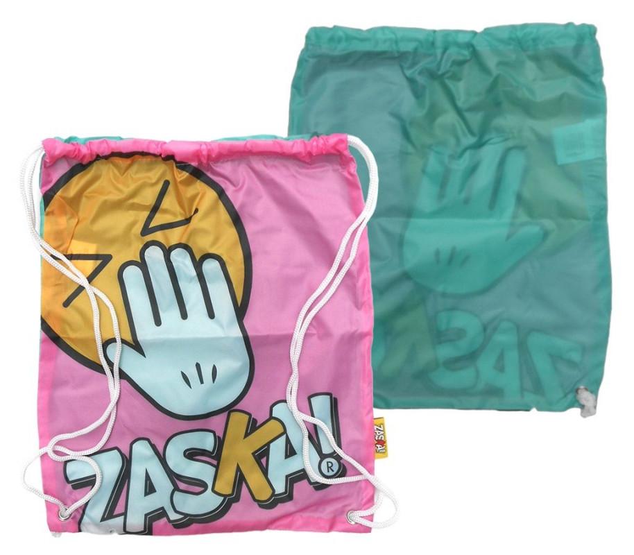 Pytlík / taška na přezůvky Zaska / 44 x 38 cm