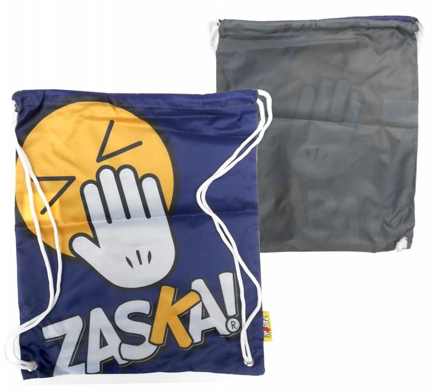 Pytlík / Taška na přezůvky Zaska Modrý / 44 x 38 cm