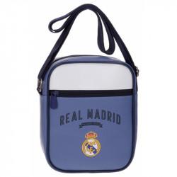 Taška na jedno rameno s motivem Real Madrid / 17 x 22 x 6 cm