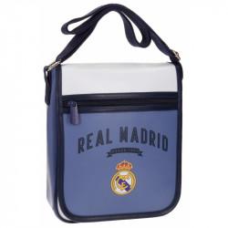 Taška na jedno rameno s motivem Real Madrid / 20 x 24 x 6 cm