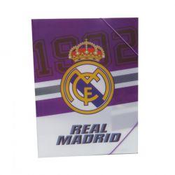 Papírová složka na gumu Real Madrid / vecidoskoly