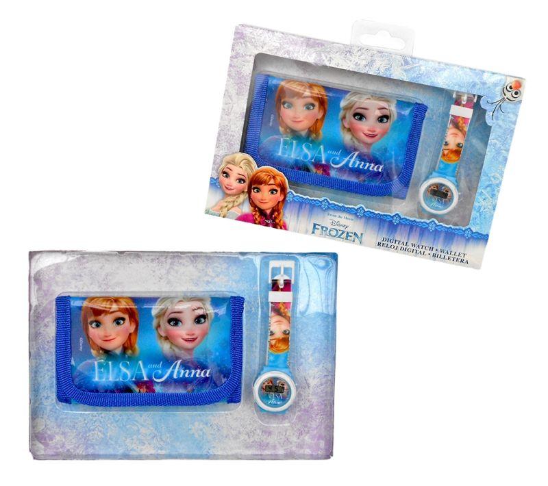 Hodinky a peněženka Ledové království / Frozen