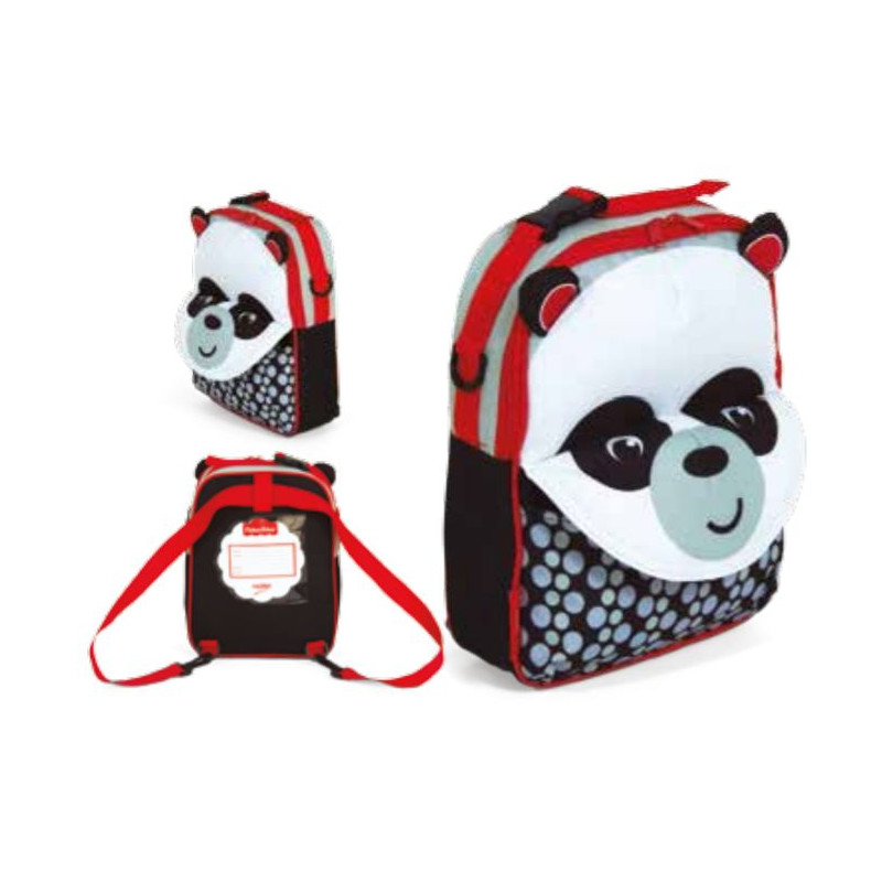3D batoh Fisher Price / Panda / vecidoskoly
