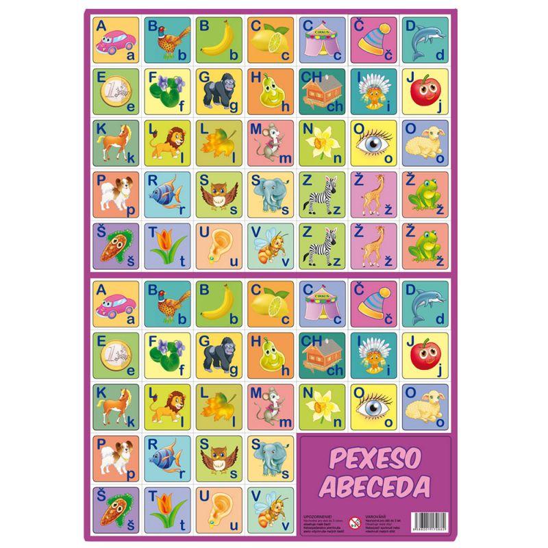 Pexeso Abeceda / vecidoskoly