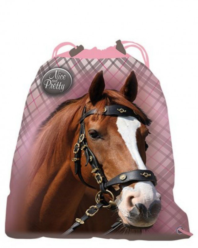 Gym bag / taška na přezůvky Horse