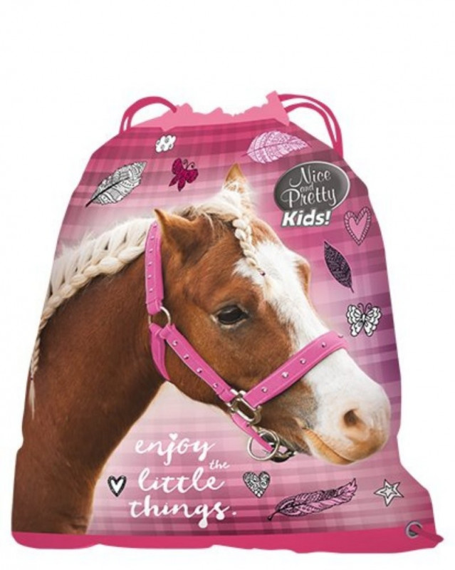 Gym bag / taška na přezůvky Horse Enjoy