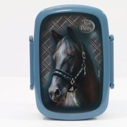Lunch box / krabička na svačinu Kůň Modrý