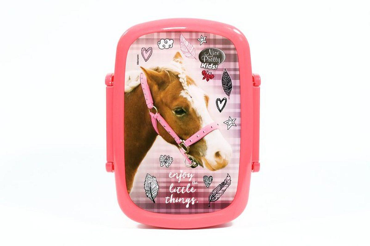 Lunch box / krabička na svačinu Kůň Růžový
