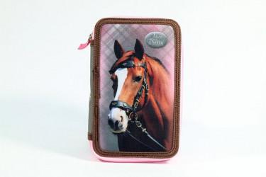 Dvoupatrový penál Kůň