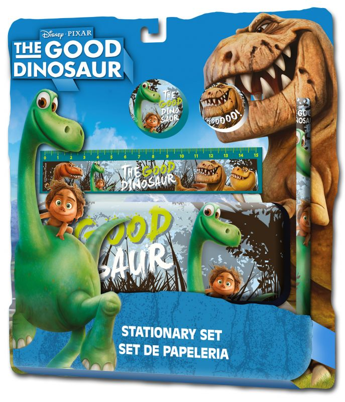 Sada školních pomůcek  5ks Hodný dinosaurus