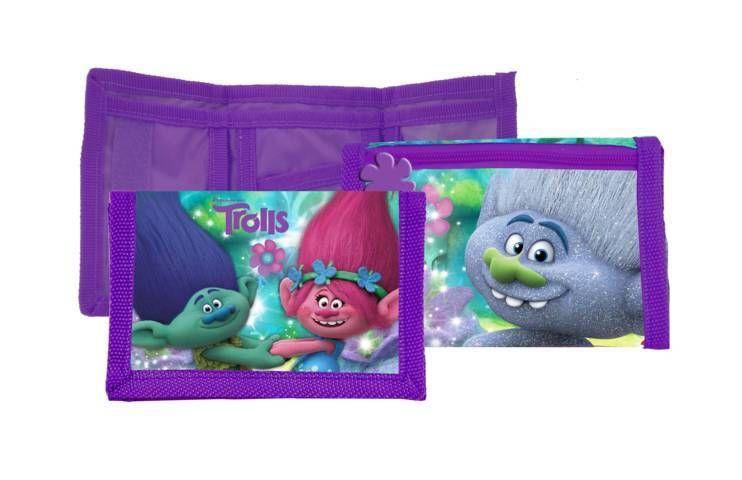 Peněženka Trollové / Trolls fialová