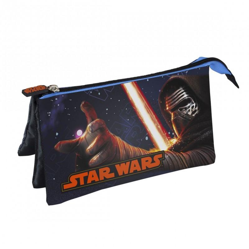 Taštička / penál se třemi přihrádkami Star Wars