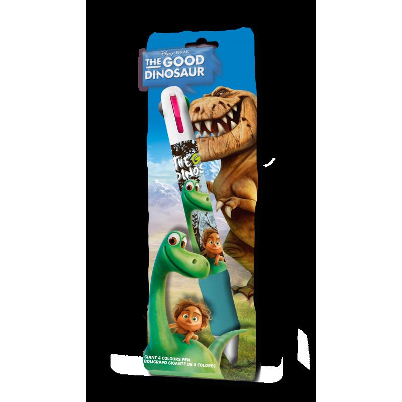 Čtyřbarevná propiska Hodný Dinosaurus
